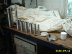 Disassembled Fuel Cell