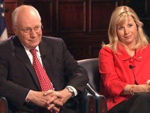 Cheney and Daughter
