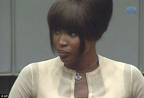 Naomi Campbell at the Haque