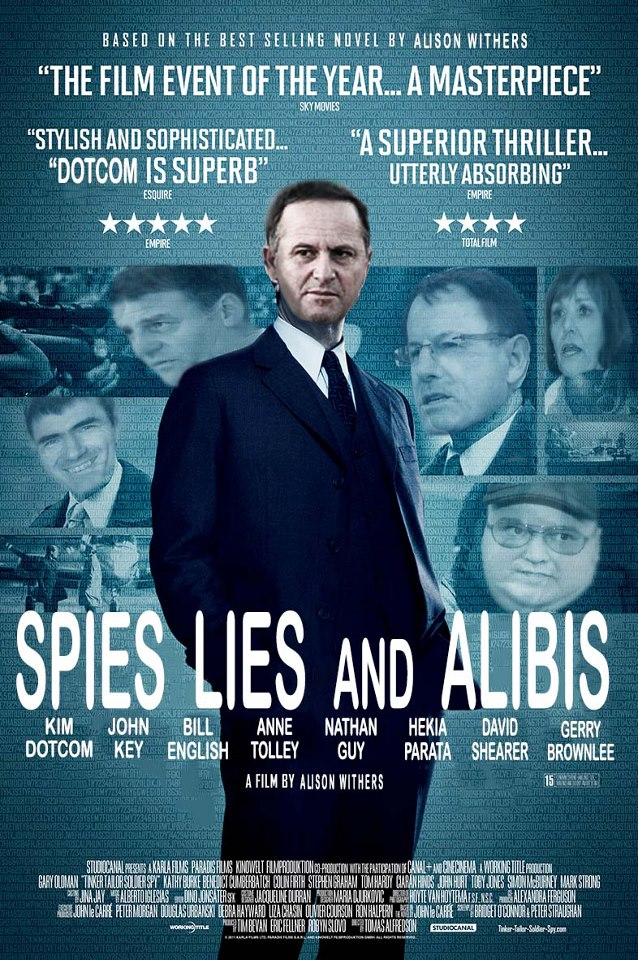 Spies, Lies, Alibis: The Film John Key Really Plays In, Shame We're The  Extras | Aotearoa: A Wider Perspective